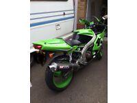 Kawasaki ninja motorbike for sale