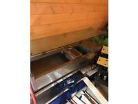 Polar Hot Sauce Dispenser Water Heat Bain Marie Catering Equipment