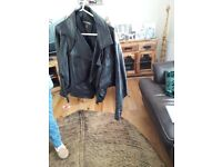 2 ladies leather jackets. Both in excellent condition.