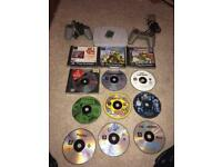 Retro Sony Ps1 console and games