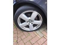 Audi 18inch alloys