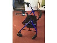 Mobility Walker/Stroller Drive Rollator with seat