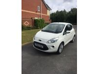 2015 65 PLATE FORD KA EDGE 1242cc ONE OWNER FROM NEW VERY LOW MILEAGE ONLY 11 k