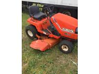 Kubota diesel ride on mower. spares or repairs