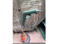 Black and Decker Reflex Grass Strimmer Garden Hedge Trimmer 25cm GL340 VGC