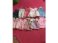 3-6 month girls dresses