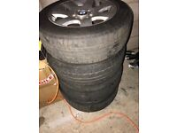 BMW wheels an tyres