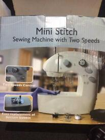 Sewing machine Mini stitch