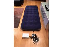 Inflatable Mattress (Single) with Electric Pump