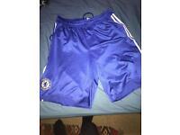 Chelsea Blue Adidas Shorts