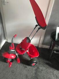 Red kids trike