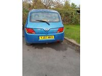 2007 Proton Savvy 1.1 for sale £500 onco urgent sale