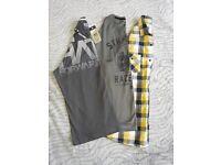 Bundle of 3 Mens' Tops & Shirts BNWT Size XXL, Crosshatch inc