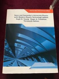Young and Freedman University Physics textbook- 13th edition