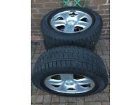 RAV4 wheels and tyres