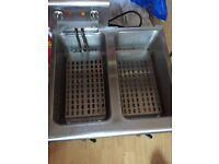 Used commercial electric fryer