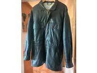 Gents leather coat