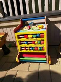 Toddlers cube of fun