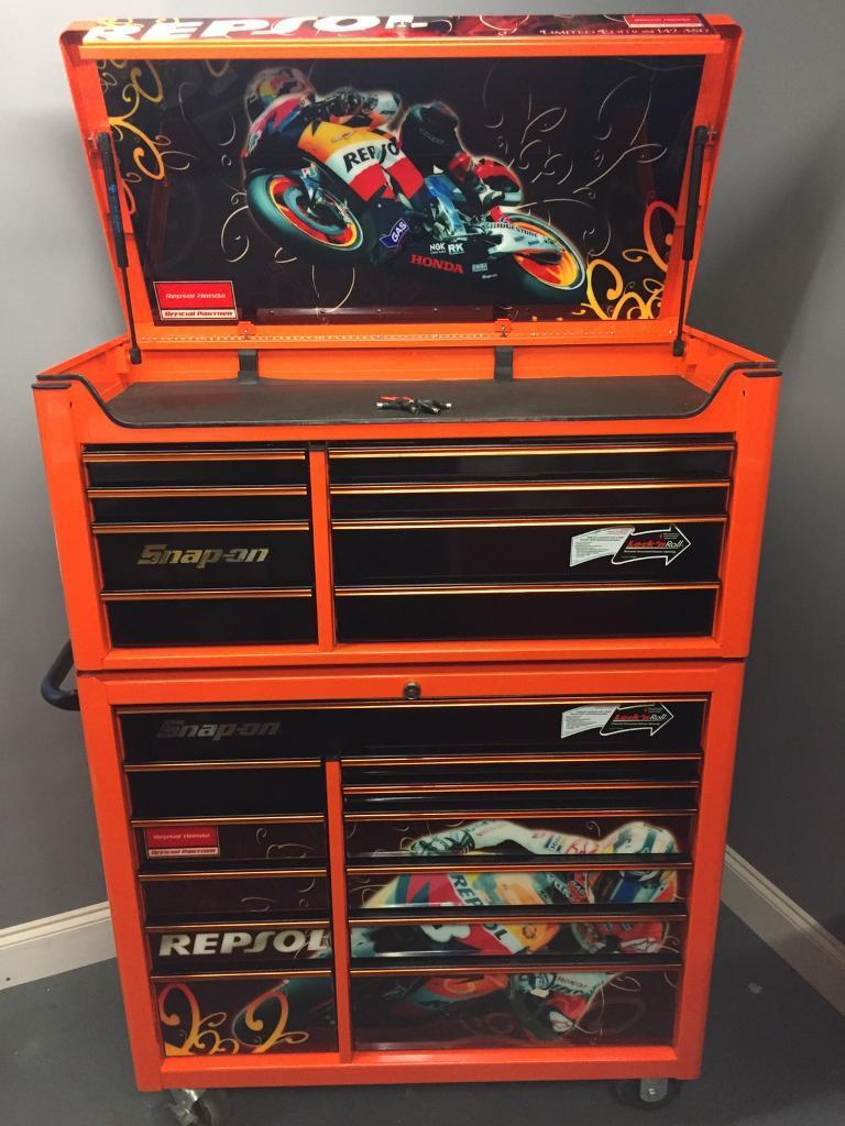 Snap On 40 Quot Orange Honda Repsol Tool Box Lovely Condition