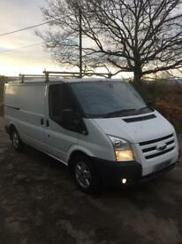 2010 ford transit mwb twin side doors clean van