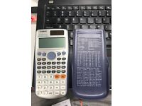 USED CASIO fx-991es Plus, all function well, perfect appearance