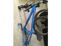 Very good quality Mountain Bike for sale. Orange Mountain Bike.