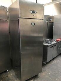 Foster commercial single door upright freezer, catering