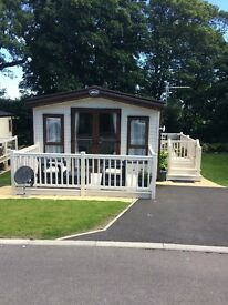 Holiday home on 5* Site, West Witton, Yorkshire Dales, 12 month site, owners only, stunning views