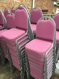 150 banquet chairs ex hire