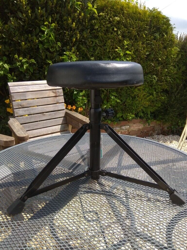Prime Adjustable Drumming Stool Min 44Cm Max 64Cm Metal With Padded Seat Needs New Rubber Footpads In Kingskerswell Devon Gumtree Andrewgaddart Wooden Chair Designs For Living Room Andrewgaddartcom