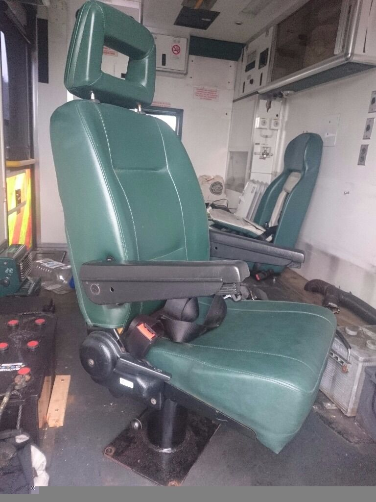 swivel reclining captain chair seat for van camper motorhome boat ambulance in norwich. Black Bedroom Furniture Sets. Home Design Ideas