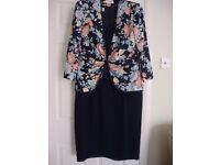Matching Dress And Jacket By Condici Size 16-18