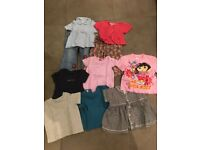 bundle of baby clothes 18/24 months