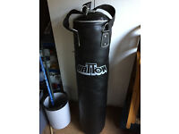 Punch bag only used a handful of times