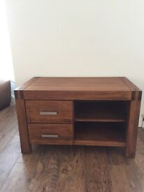Creations solid wood tv unit