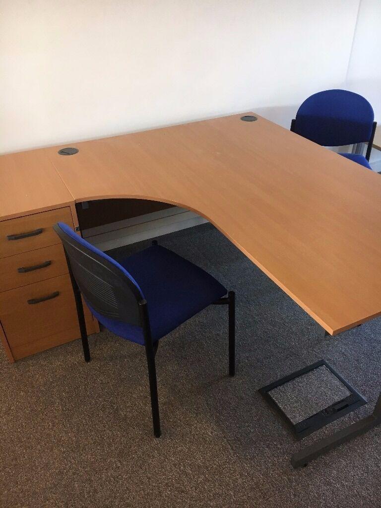 Left Handed Office Desk