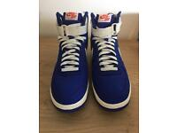 Men's Genuine Nike Air Force 1 Hi Retro Blue Trainers