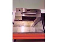 Baumatic built in electric oven and grill, Silver