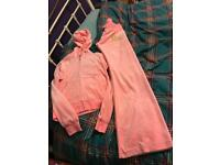 Ladies or older girls juicy couture Velour tracksuit size M but Fits 8/10