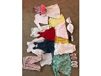 Baby Girls Clothes Bundle Mixed sizes NEED GONE