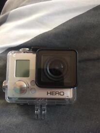 GoPro hero 3 with accessories
