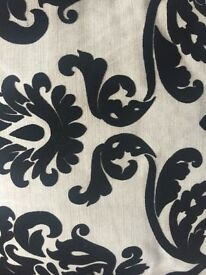 2 Black & White Next Cushions
