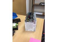 HP 933xl Ink Cartridges yellow 3x, Blue 3x and Pink 3x