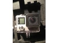GoPro Hero 4 Silver and extras