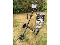 Slazenger Rocket Deluxe Tri-Fold Aluminium Pull Golf Cart