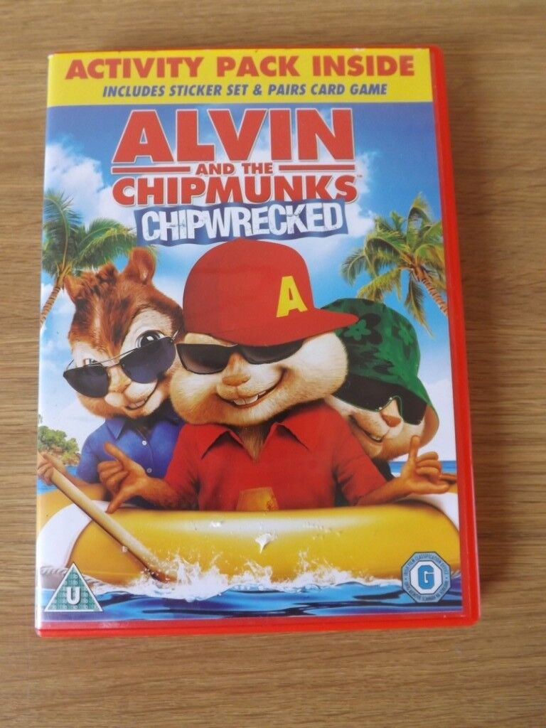 alvin and the chipmunks chipwrecked dvd in peterculter aberdeen