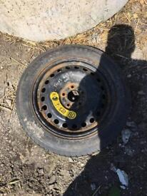 Ford Focus 2006 1.6 spare wheel