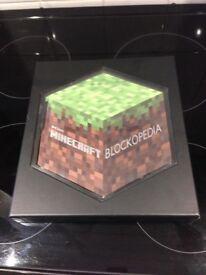 Minecraft book in presentation box
