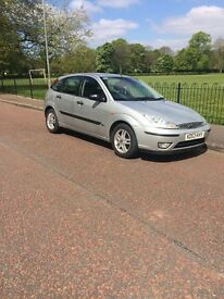 Ford Focus 1.6 Zetec 53 plate silver