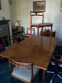 Danish Dresser/Sideboard, Dining table, 4 chairs and 1 carver chair for sale